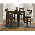 New Classic 04-1905 5pc Dining Set - Item Number: 04-1905