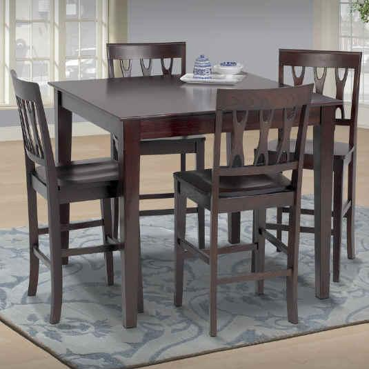 New Classic Abbie 5 Piece Table and Chairs - Item Number: 0640-012+2x020