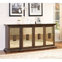 New Classic Alastair Credenza - Item Number: TA1060-4-WNT