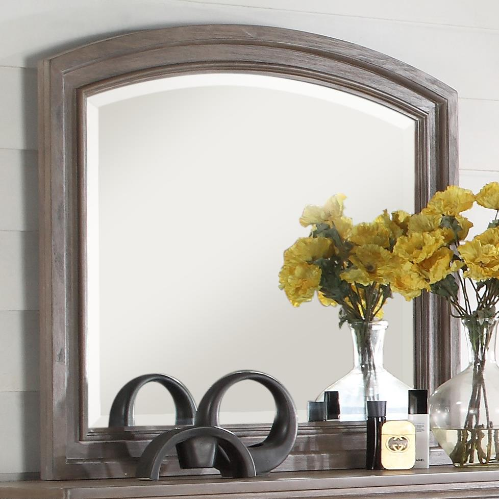 Allegra Mirror by New Classic at A1 Furniture & Mattress