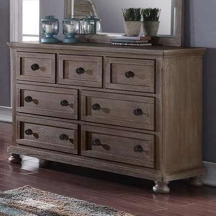 Allegra Dresser by New Classic at H.L. Stephens