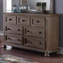 New Classic Allegra Dresser - Item Number: Y2159-052