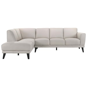 5-Seat Sectional Sofa with LAF Chaise Lounge
