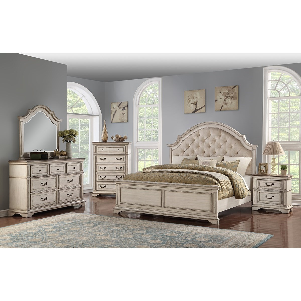Anastasia California King Bedroom Group by New Classic at Pilgrim Furniture City