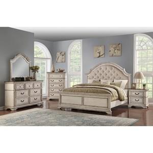 New Classic Anastasia California King Bedroom Group Beck