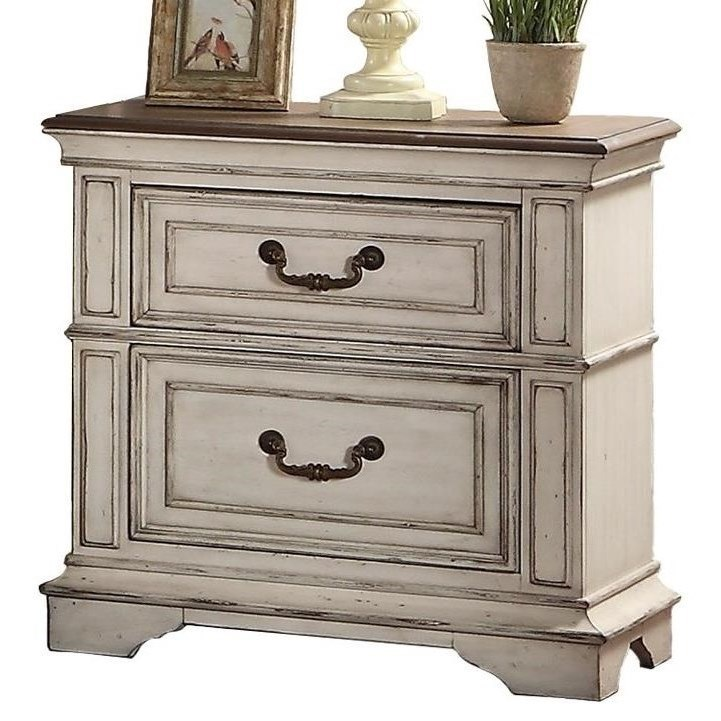 Anastasia Nightstand by New Classic at H.L. Stephens
