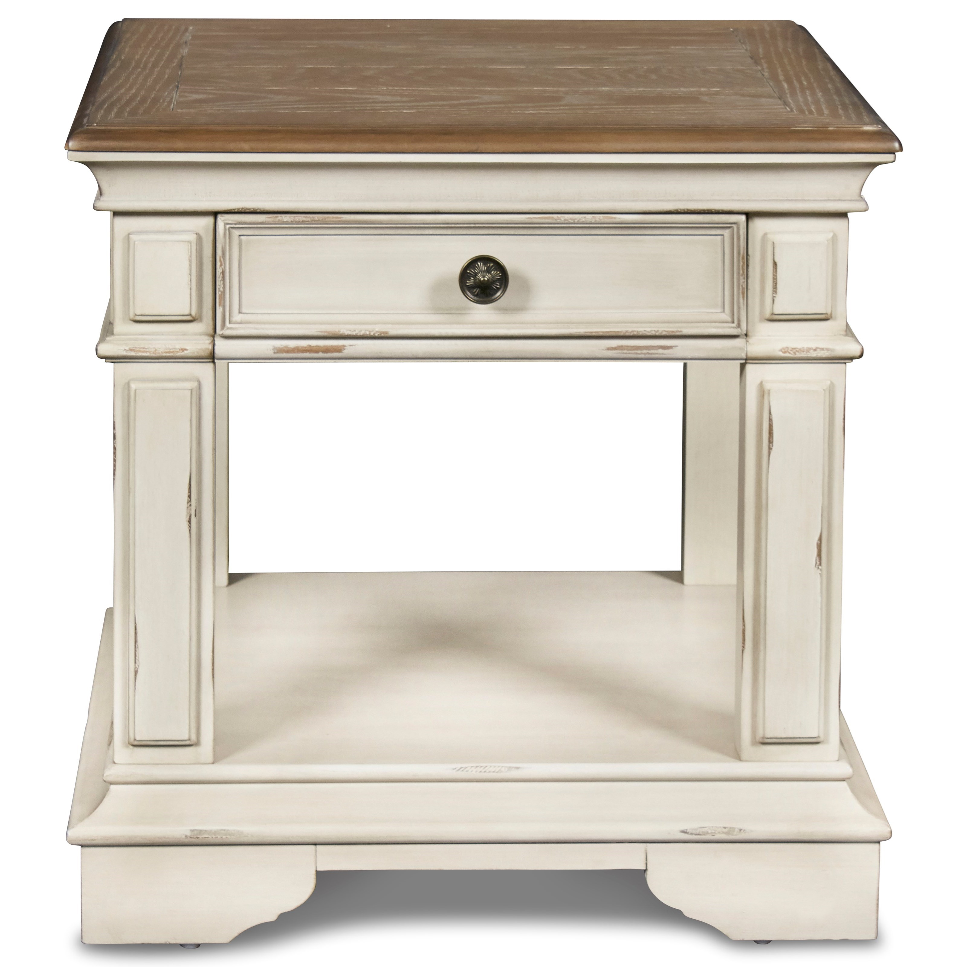 Anastasia End Table by New Classic at Rife's Home Furniture