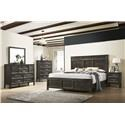 New Classic Andover 6 Piece King Bedroom Group - Item Number: 581367717
