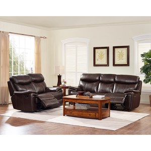 New Classic Aria Power Reclining Living Room Group