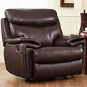 New Classic Aria Power Glider Recliner - Item Number: L8209-13P-BMB