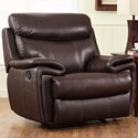 New Classic Aria Power Glider Recliner - Item Number: L8209-13P-BBN