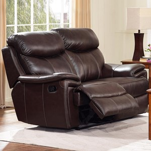 New Classic Aria Reclining Loveseat