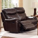 New Classic Aria Power Reclining Loveseat - Item Number: L8209-20P-BMB