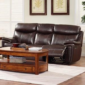 New Classic Aria Dual Recliner Power Sofa