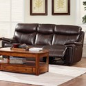 New Classic Aria Casual Dual Recliner Sofa with Pillow Arms - Image Shown May Not Represent Exact Features Indicated