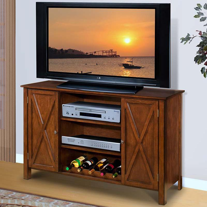 New Classic Aspen Entertainment Console - Item Number: 10-116-10