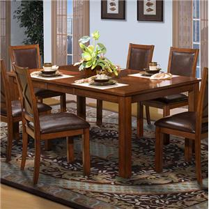 New Classic Aspen Standard Rectangle Dining Table