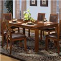 New Classic Aspen Standard Rectangle Dining Table - Item Number: 40-116-10