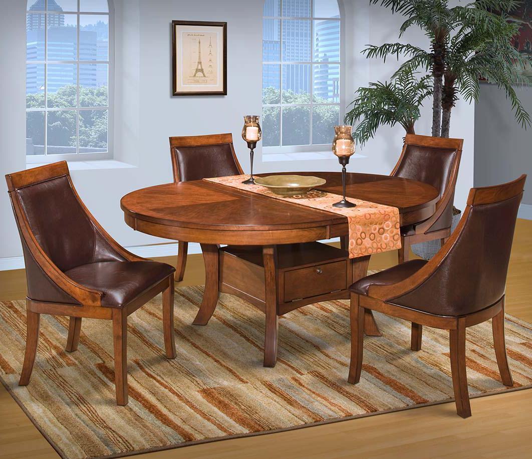 Round Dining Table Set w/ Base