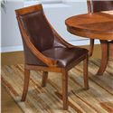 New Classic Aspen Round Table Club Chair - Item Number: 40-116-15