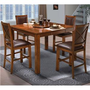 New Classic Aspen Counter Dining Table Set