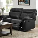 New Classic Atlas Power Reclining Loveseat - Item Number: 22-2263-22P-SGY