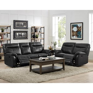 New Classic Atlas Power Reclining Living Room Group
