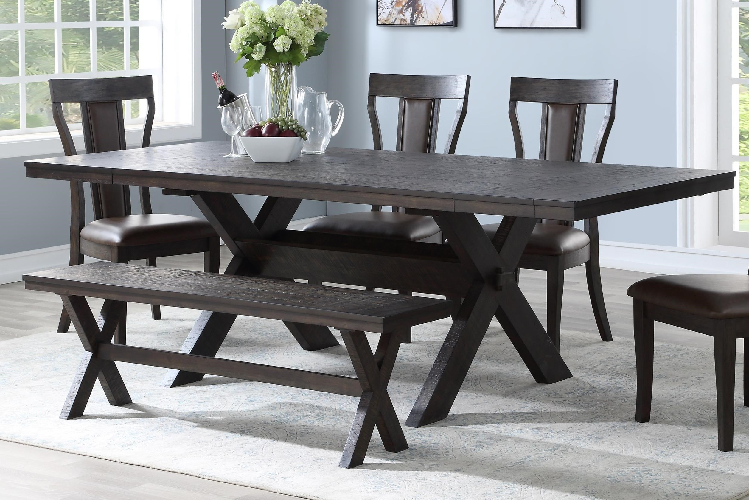 Aubree Dining Table by New Classic at Carolina Direct