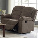 New Classic Austin Power Reclining Loveseat - Item Number: 22-2134-22PH-UBR