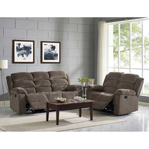 New Classic Austin Reclining Living Room Group