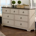 New Classic Avalon Cove 7 Drawer Dresser - Item Number: 00-816-050