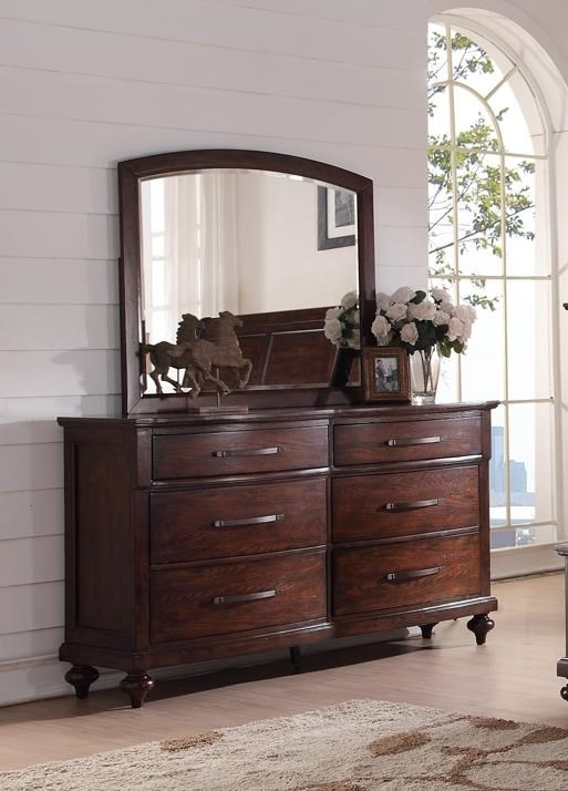 New Classic La Jolla Dresser and Mirror - Item Number: NEWC-GRP-B1033B-DRM