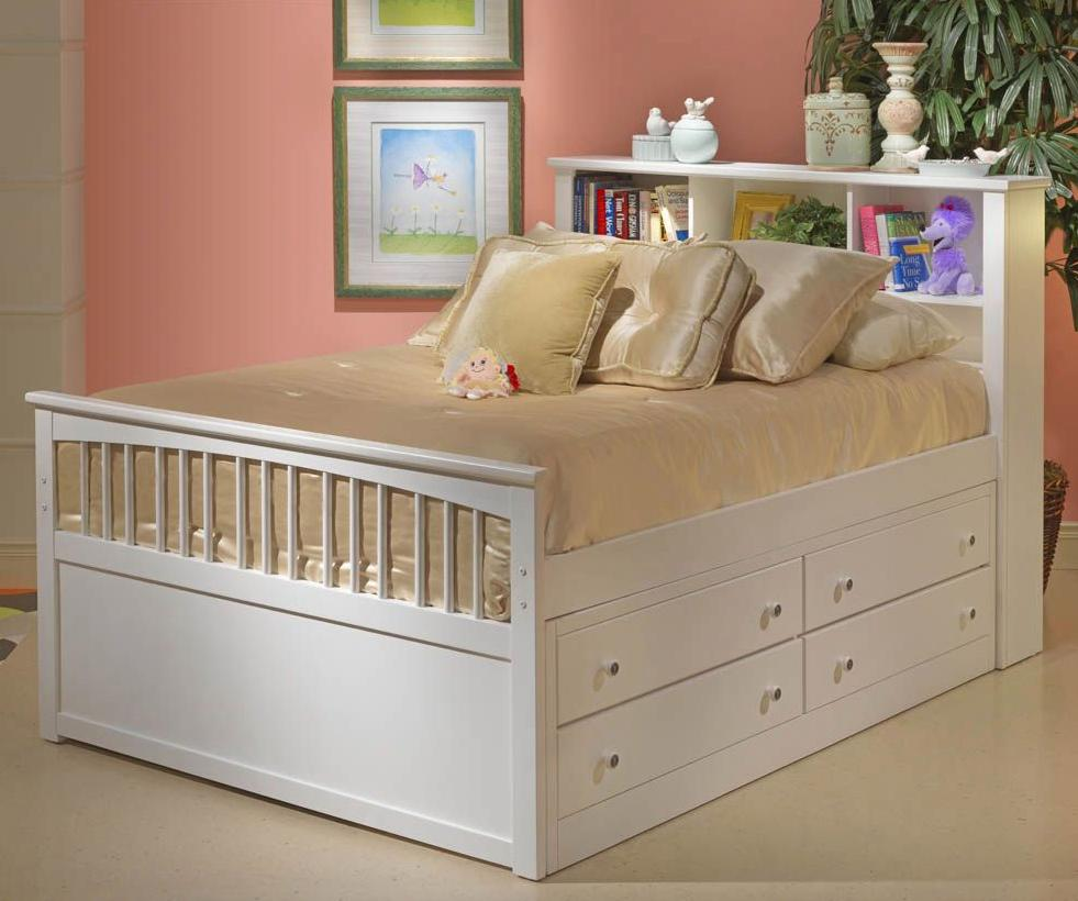 New Classic Bayfront Full Captain's Bed - Item Number: 1415-417+427+437+2x098