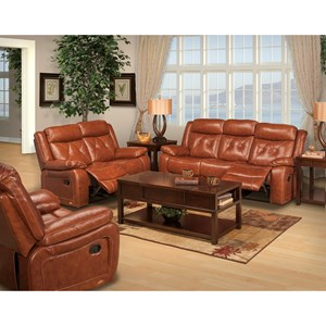 New Classic Benedict Power Reclining Living Room Group