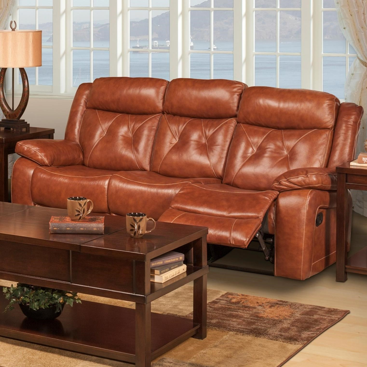 Pleasing New Classic Benedict Casual Reclining Sofa With Tufted Back Caraccident5 Cool Chair Designs And Ideas Caraccident5Info