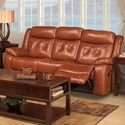 New Classic Benedict Power Reclining Sofa - Item Number: L2096-30P-LBN
