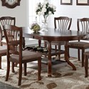 New Classic Bixby Dining Table  - Item Number: D2541-10