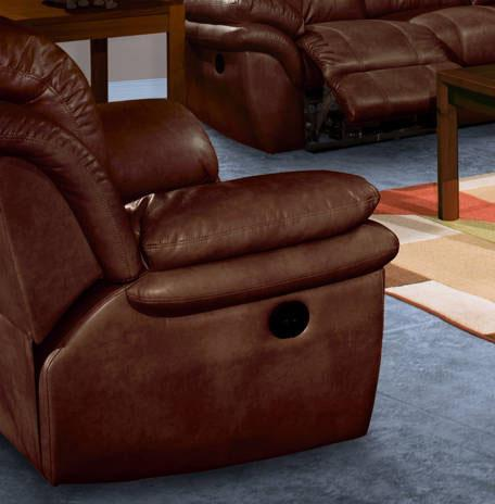 New Classic Cabo Recliner   - Item Number: 20-203-15-BRN
