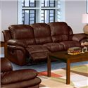New Classic Cabo Dual Recliner Sofa   - Item Number: 20-203-30-BRN