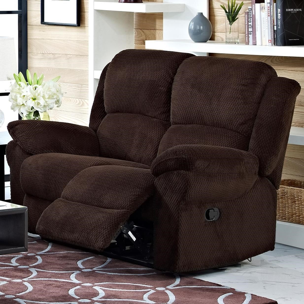 New Classic Cabot Reclining Loveseat - Item Number: 20-2222-20-DTV