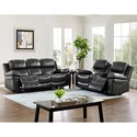 New Classic Cadence Power Reclining Living Room Group - Item Number: 208 Living Room Group 4