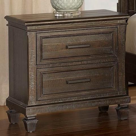 New Classic Cadiz Bedroom Nightstand - Item Number: 00-821-040