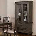 New Classic Cadiz Dining Wine Cabinet - Item Number: 40-821-45T+45B