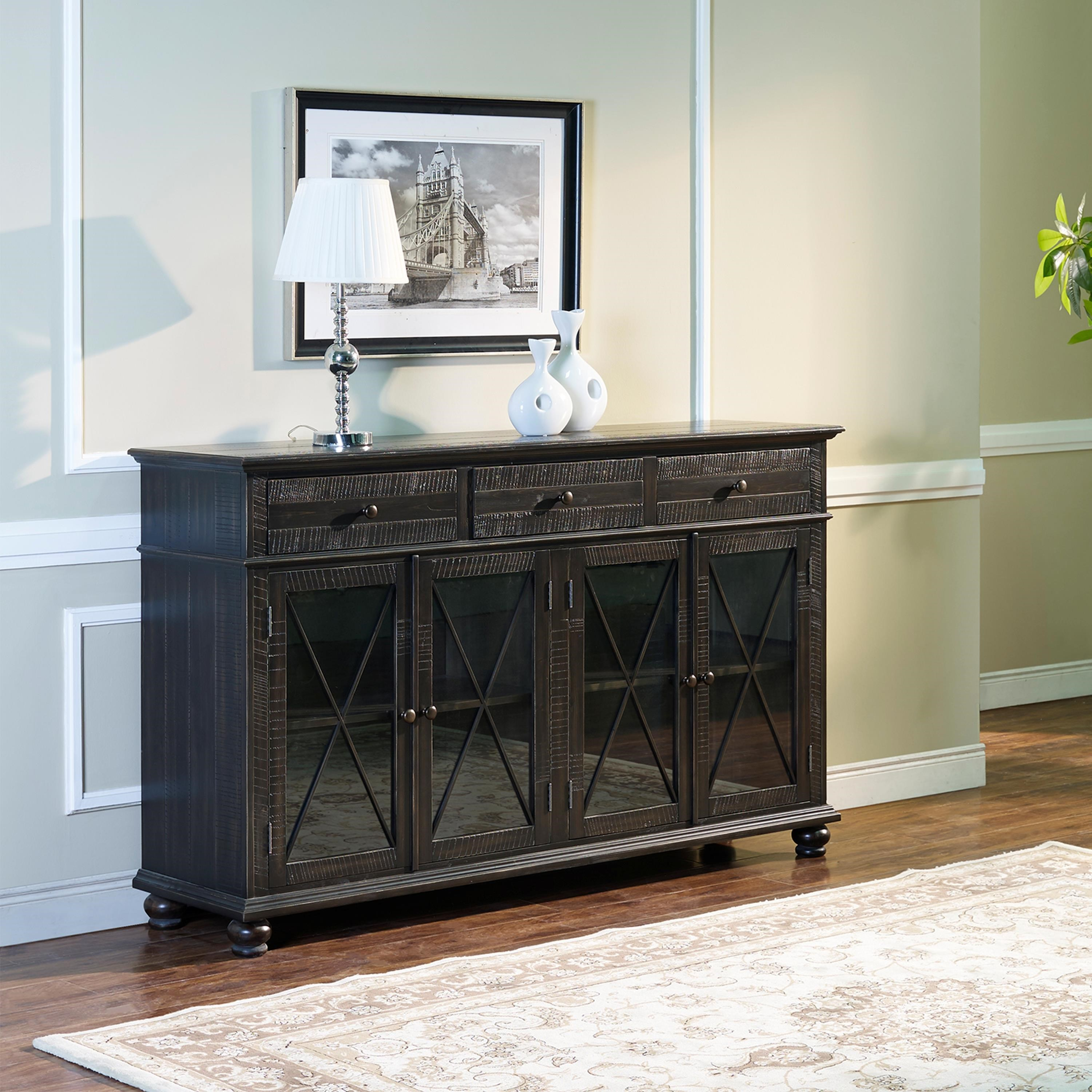 Cadiz TA Credenza by New Classic at Royal Furniture