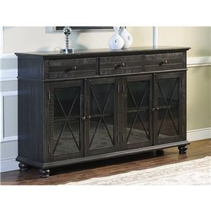 New Classic Cadiz Cadiz 4 Door Credenza Server