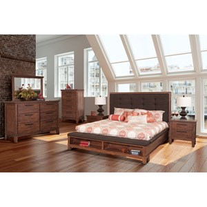 New Classic Cagney King Bedroom Group