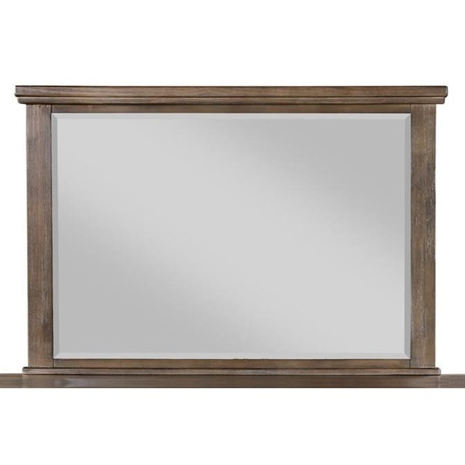 Cagney Dresser Mirror by New Classic at Beck's Furniture