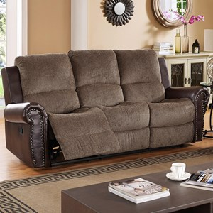 New Classic Callahan Reclining Sofa