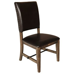 Contemporary Upholstered Dining Side Chair