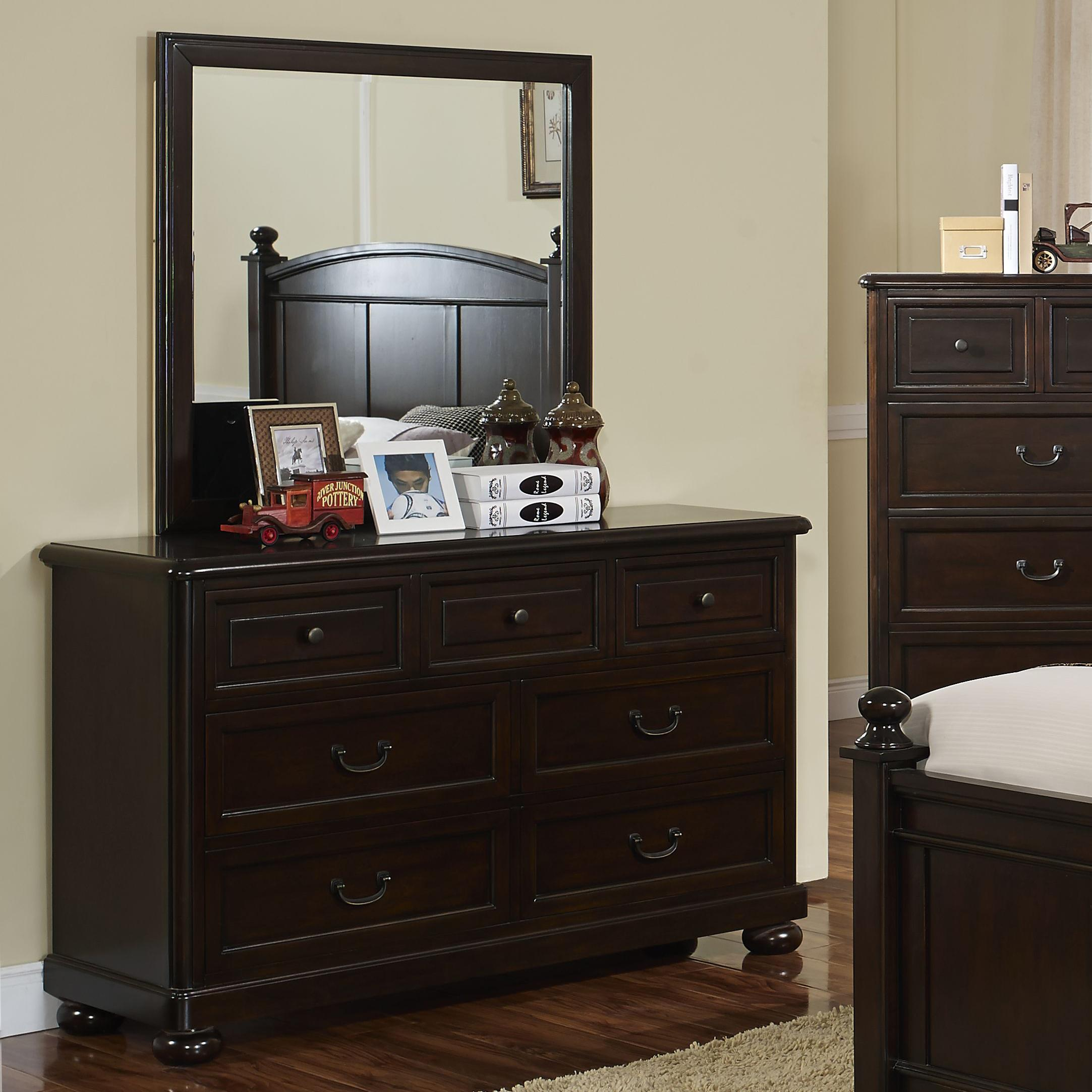 New Classic Canyon Ridge Dresser and Mirror - Item Number: 05-230-052+062
